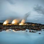 Central geotérmica en Blue Lagoon