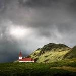 Iglesia en Vik