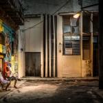 Callejón en la Habana