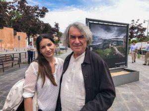 Claudia González y Ángel Marcos