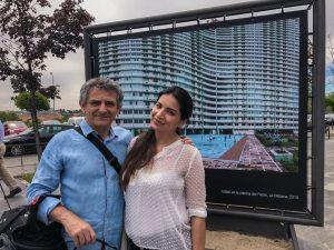 Iñaki Miramón y Claudia González