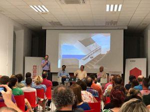 Y clase magistral Mellado en La térmica - Málaga Foto de Ignacio Alcaide